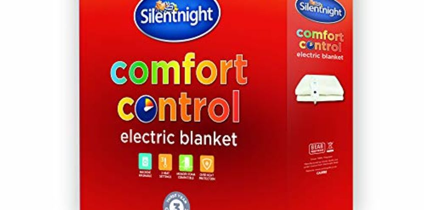 Up to 30% off Silentnight Electric Blankets from Amazon