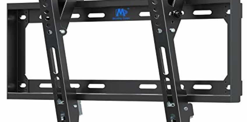 Mounting Dream Tilt TV Wall Bracket Mount for Most LED, LCD, OLED, Plasma TVs up 40kg Fischer Wall Plugs Tilting TV Bracket MD2268 from Amazon