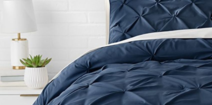 Save up to 20% on Bath and Bed linens from AmazonBasics and more from Amazon