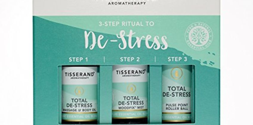 Save on Tisserand Three Step Ritual To De-Stress and more from Amazon
