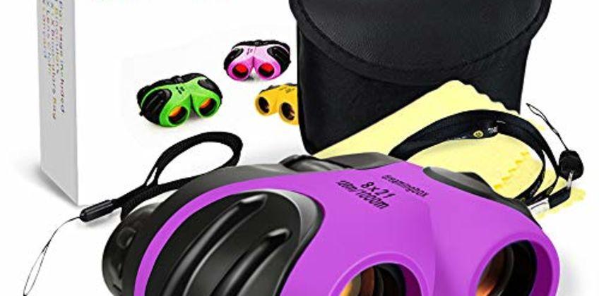 EUTOYZ Compact Shock Proof Waterproof Binocular for Kids - Best Gifts from Amazon