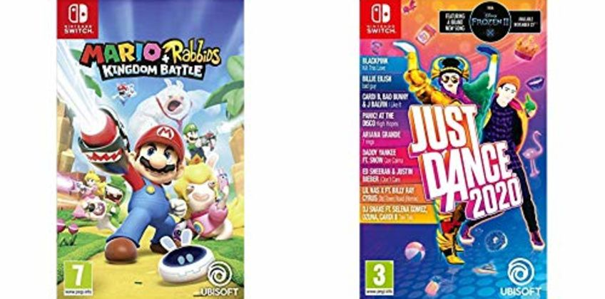Bundle Deals On Nintendo Switch Titles from Amazon