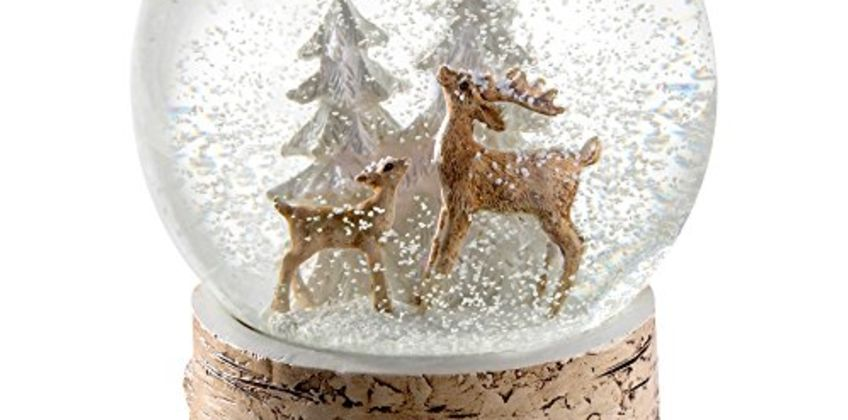 20% off Christmas Snow Globes from Amazon