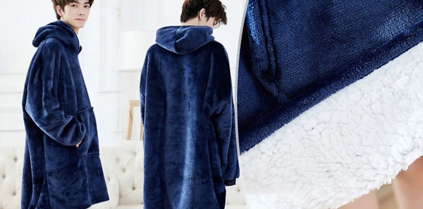 Super Soft Oversized Blanket Hoodie - 4 Colours from GoGroopie
