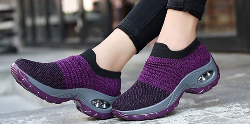 Breathable Air-Cushion Trainers - 6 Colours & 6 Sizes from GoGroopie