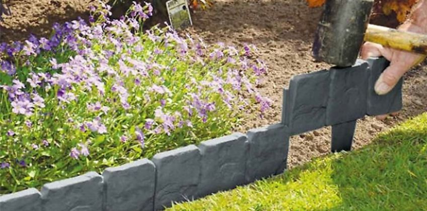 Cobble Stone-Effect Edging - 2.5m, 5m, 10m or 20m Long! from GoGroopie