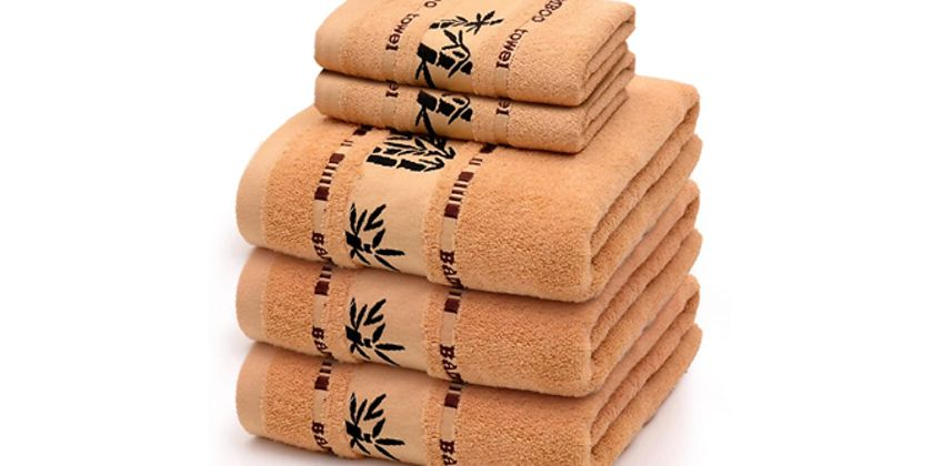 Super Soft Bamboo Hand & Bath Towels - 4 Options & 3 Colours from GoGroopie