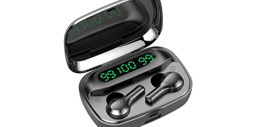 R3 Wireless Bluetooth Earbuds & Charging Case from GoGroopie