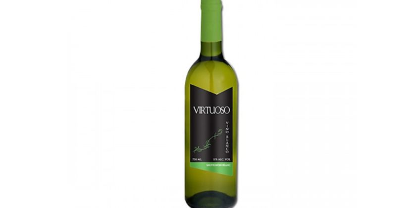 12 Bottles of Luxurious Virtuoso White and Red Wine - Chardonnay, Sauvignon Blanc, Merlot & More! from GoGroopie
