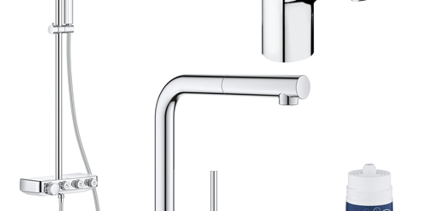 Save up to 15% on Grohe Products! from Amazon