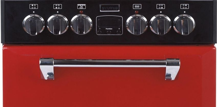 Stoves Richmond 550E 55cm MiniRange Electric Cooker - Red from Argos