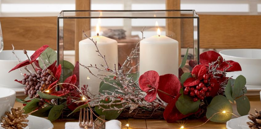 Argos Home Berry Christmas Centrepiece from Argos