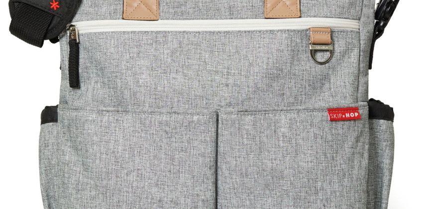 Skip Hop Duo Signature Changing Bag - Signature Grey from Argos