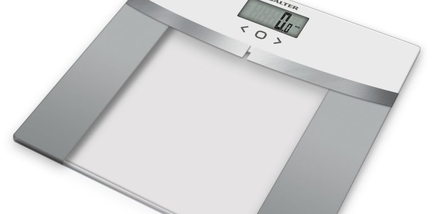 Salter WHSV3R Glass Analyser Scale - White from Argos