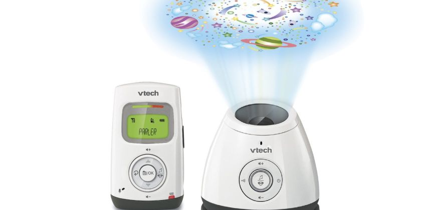 VTech BM2200 Lightshow Baby Monitor  from Argos