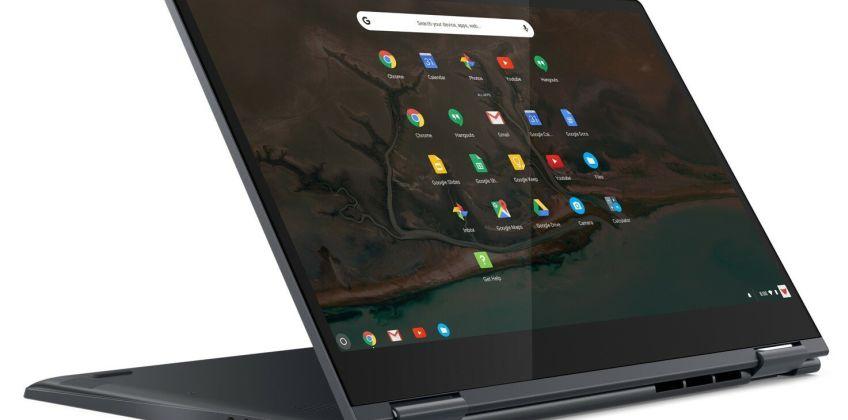 Lenovo Yoga C630 i3 8GB 64GB FHD 2-in-1 Chromebook - Blue from Argos
