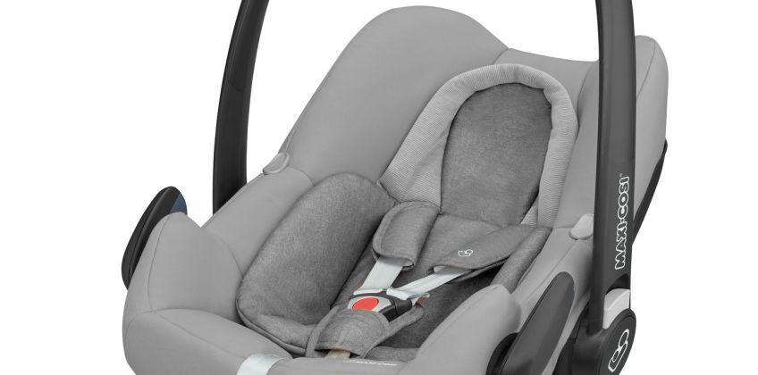 Maxi-Cosi Rock Group 0+ i-Size Baby Car Seat - Nomad Grey from Argos