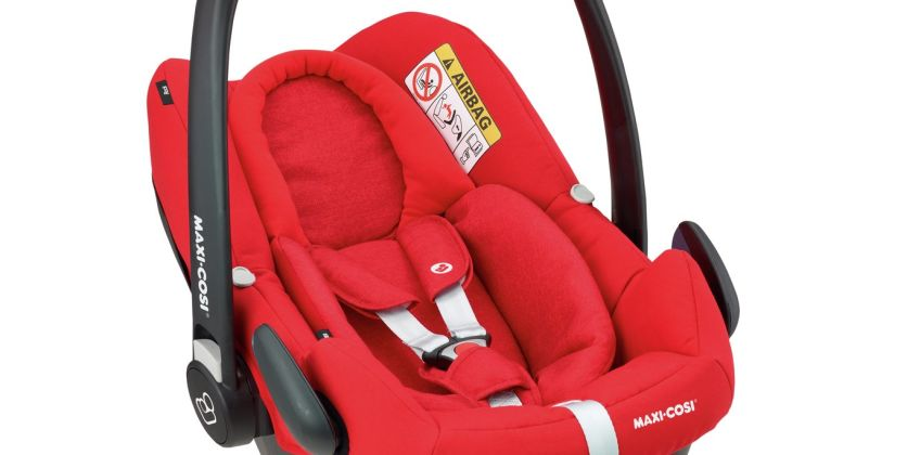 Maxi-Cosi Rock Group 0+ i-Size Baby Car Seat - Nomad Red from Argos