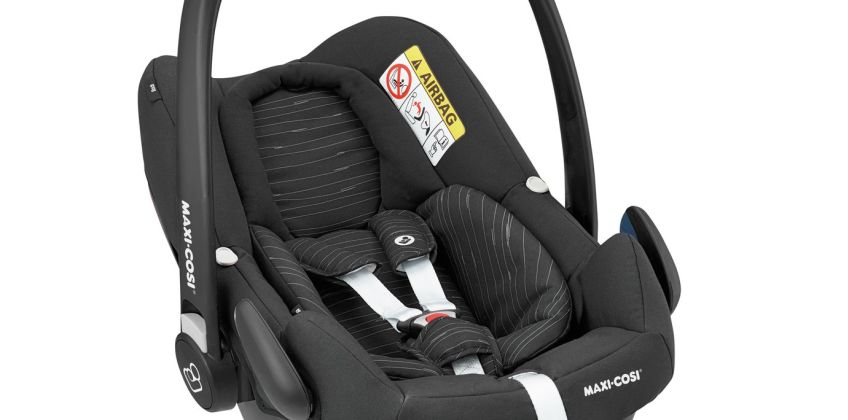 Maxi-Cosi Rock Group 0+ i-Size baby Car Seat -Scribble Black from Argos
