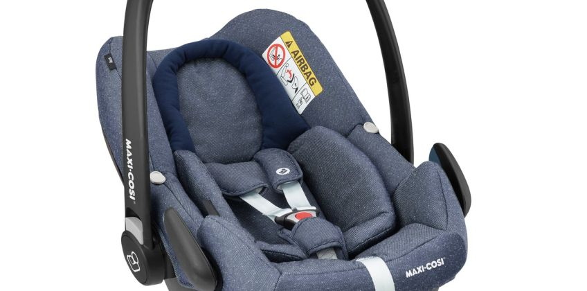 Maxi-Cosi Rock Group 0+ i-Size Baby Car Seat -Sparkling Blue from Argos