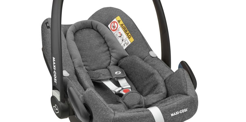 Maxi-Cosi Rock Group 0+ i-Size Baby Car Seat -Sparkling Grey from Argos