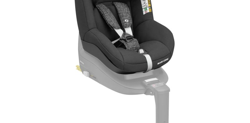 Maxi-Cosi Pearl Group 1 i-Size Car Seat - Black Grid from Argos