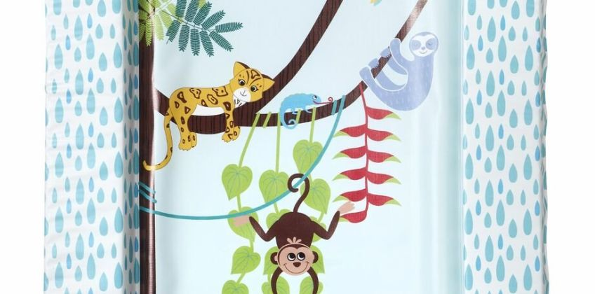 East Coast Nursery Tropical Baby Changing Mat from Argos