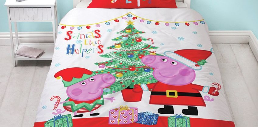 Peppa Pig Noel Bedding Set from Argos