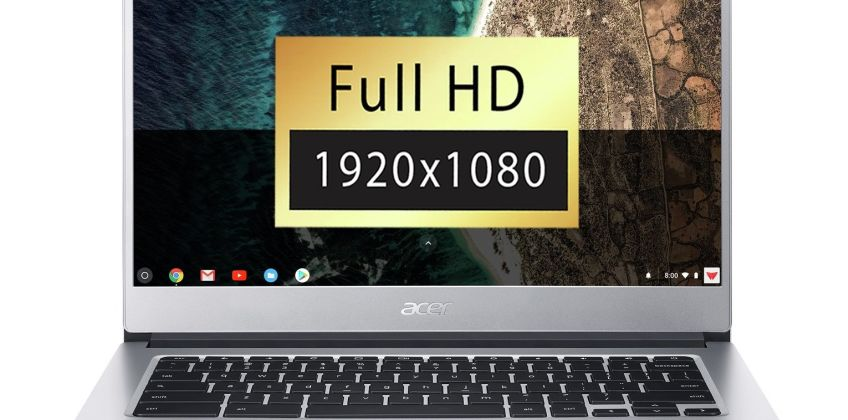 Acer CB514-1H 14 Inch 4GB 64GB FHD Touchscreen Chromebook from Argos