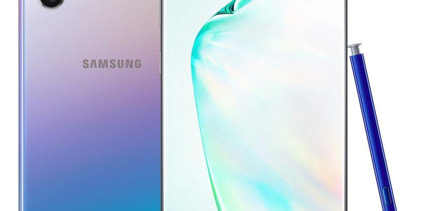 SIM Free Samsung Galaxy Note10+ 5G 512GB Mobile Phone – Glow from Argos