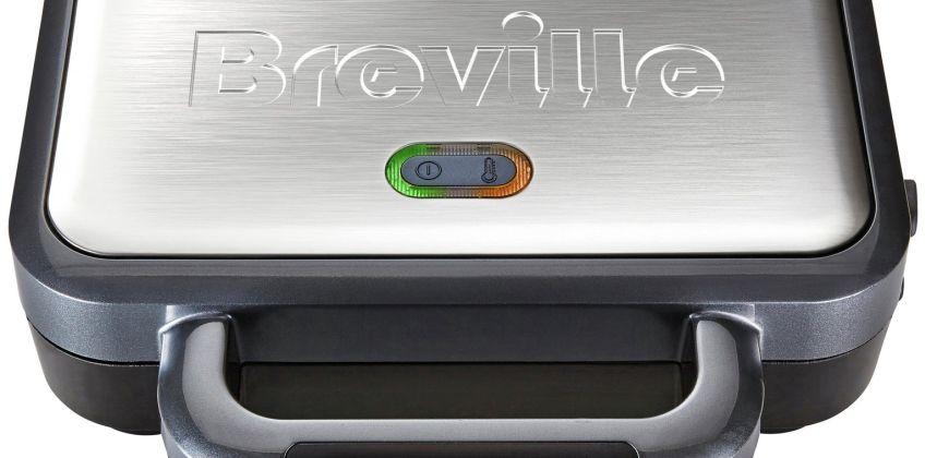 Breville VST041 Deep Fill Sandwich Toaster - Silver from Argos