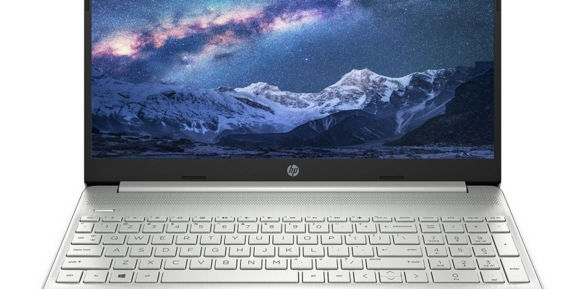 HP 15.6 Inch Slim i3 4GB 128GB FHD Laptop - Silver from Argos