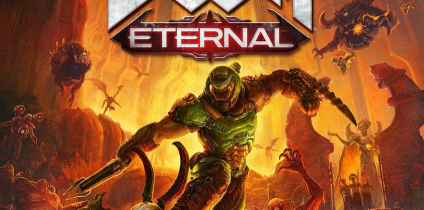 DOOM Eternal PS4 Game from Argos
