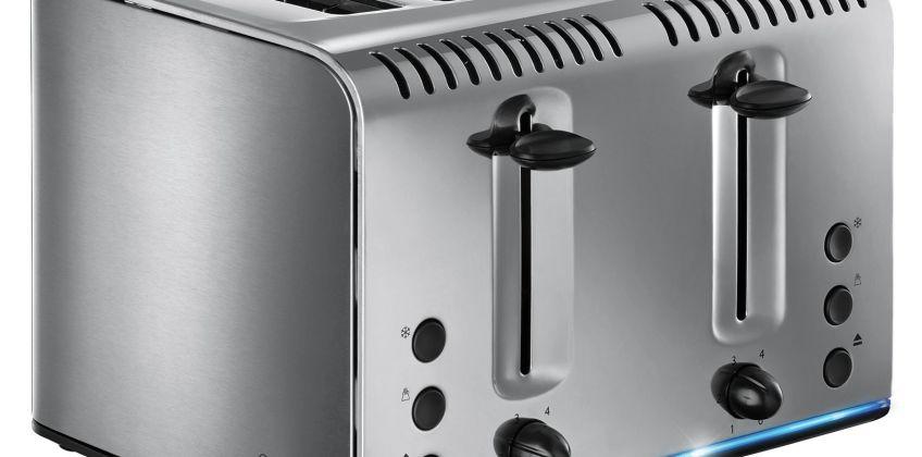 Russell Hobbs Buckingham 4-Slice Toaster St/Steel 20750 from Argos