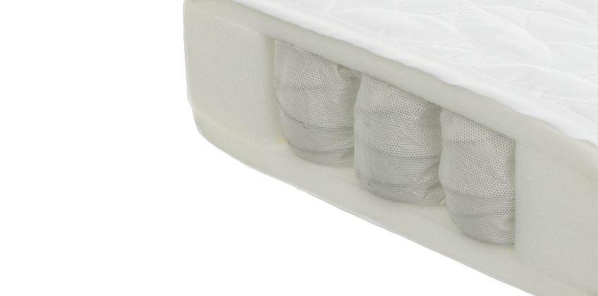 Obaby 140 x 70cm Pocket Sprung Cot Bed Mattress. from Argos
