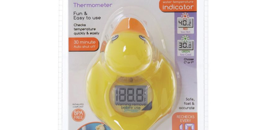 Dreambaby Duck Room and Bath Thermometer from Argos
