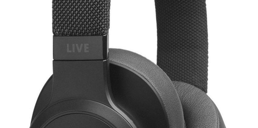 JBL Live 500 Over-Ear Wireless Headphones - Black from Argos