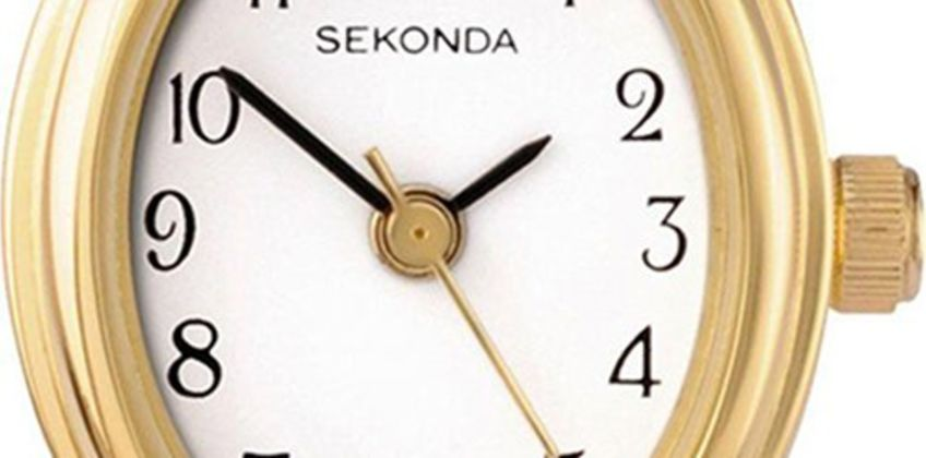 Sekonda Ladies Gold Stainless Steel Expander Bracelet Watch from Argos