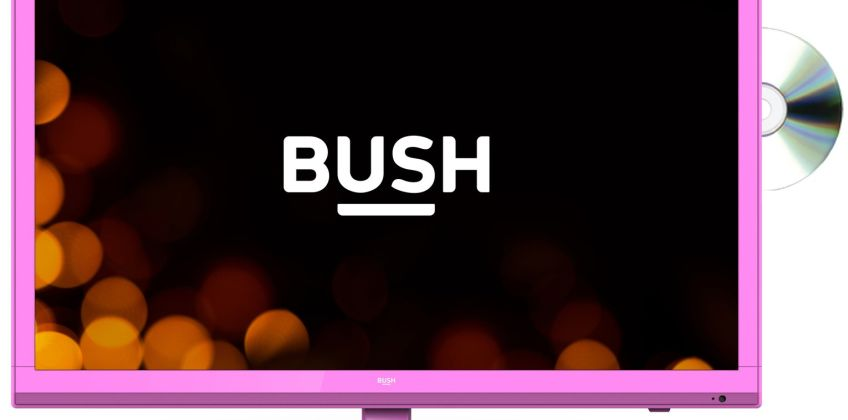 Bush 24 Inch HD Ready TV/DVD Combi - Pink from Argos