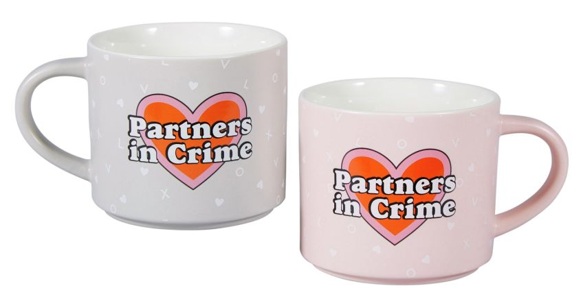 Partners in Crime Mug Set from Argos