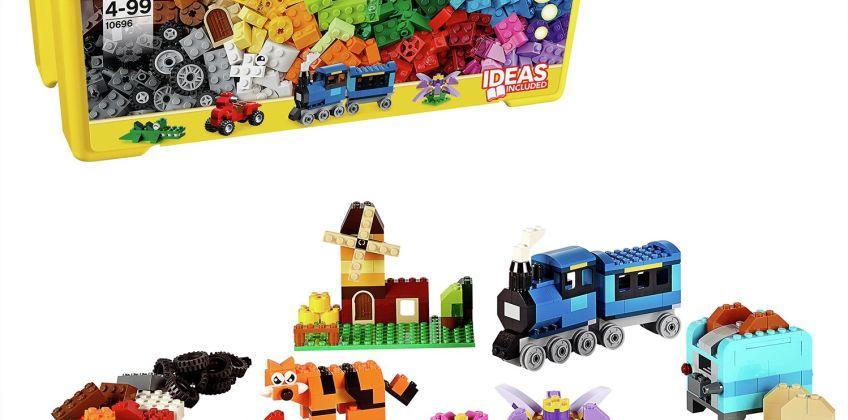 LEGO Classic Medium Creative Brick Box Building Set - 10696 from Argos