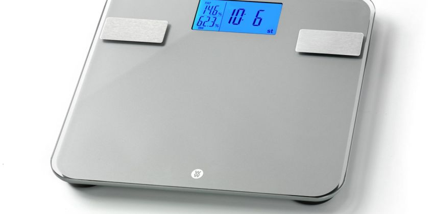 Weight Watchers Ultra Slim Body Weight Analysis Scale - Grey from Argos