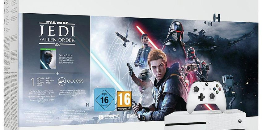 Xbox One S 1TB Console & Star Wars Jedi: Fallen Order Bundle from Argos