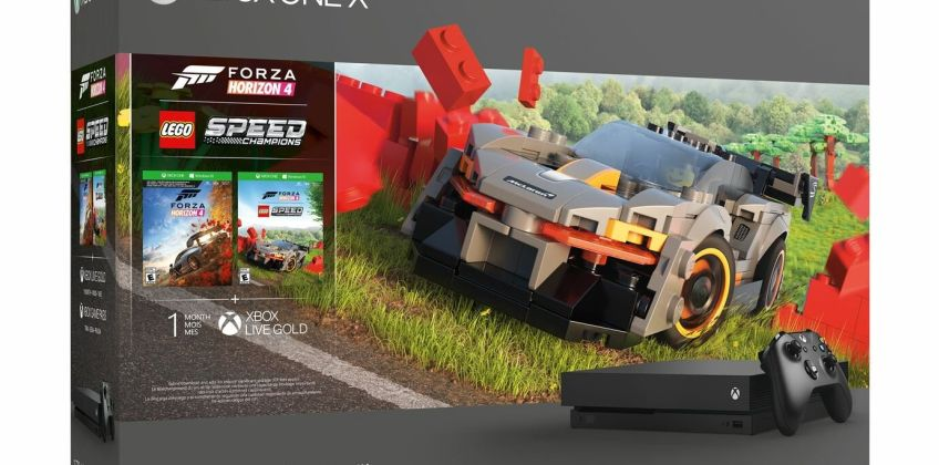 Xbox One X 1TB Console & Forza Horizon 4 LEGO Speed Bundle from Argos