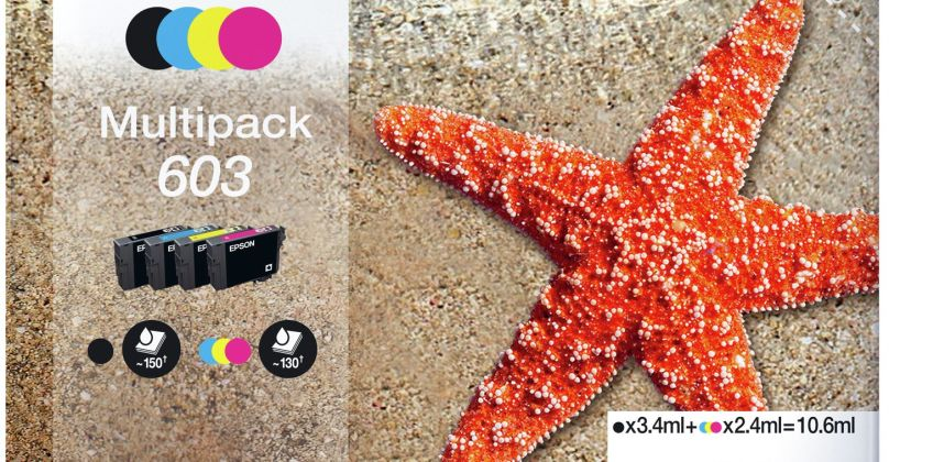Epson 603 Starfish Ink Cartridge - Black and Colour from Argos