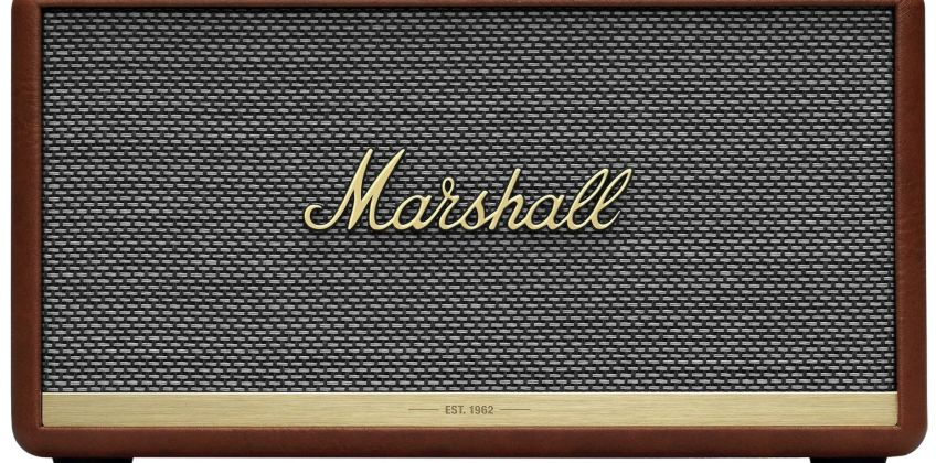 Marshall Stanmore II Bluetooth Speaker - Brown from Argos
