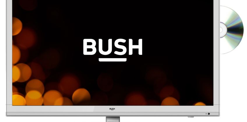Bush 24 Inch HD Ready TV/DVD Combi - White from Argos