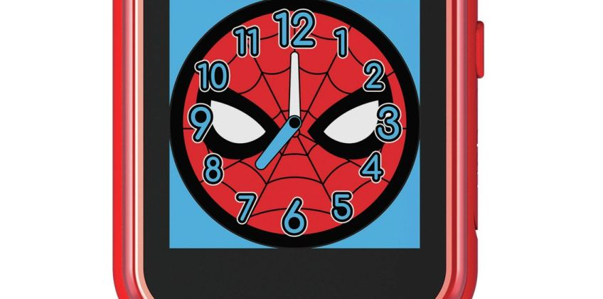 Disney Spiderman Multicoloured Silicone Childrens Watch from Argos