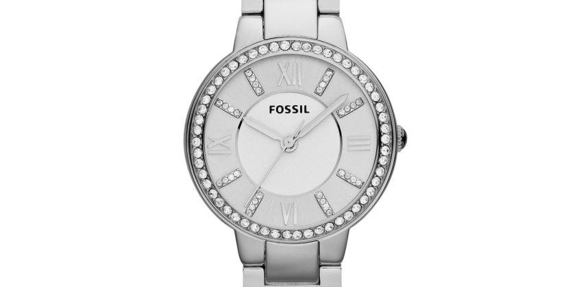 Fossil Ladies Virginia Metallic Bracelet Watch from Argos