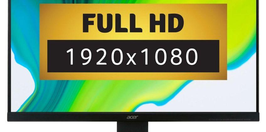 Acer K222HQLBID 21.5 Inch Full HD LCD Monitor from Argos